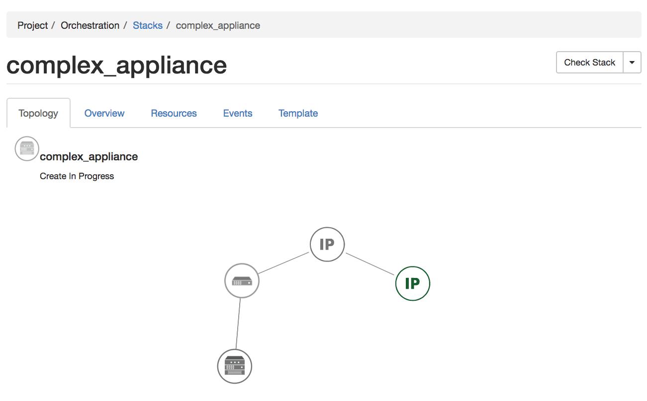 Complex Appliances Chameleon Cloud Documentation