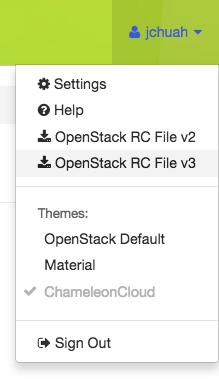 The Command Line Interface — Chameleon Cloud Documentation